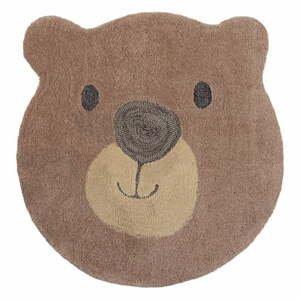 Detský koberec Flair Rugs Bear Face, ø 70 cm
