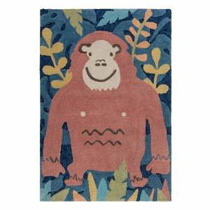 Detský koberec Flair Rugs Jungle Monkey, 80 x 120 cm
