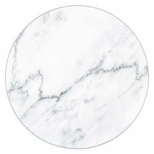 Sklenená podložka pod hrniec Wenko Marble, ø 20 cm