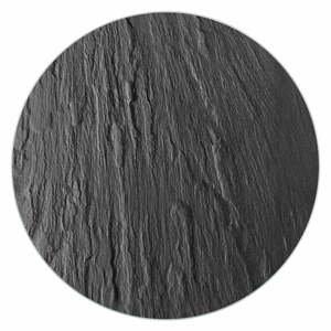 Čierna sklenená podložka pod hrniec Wenko Trivet, ø 20 cm