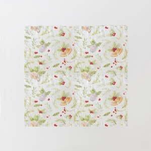 Súprava 2 vianočných ľanových obrúskov Linen Tales Merry, 40 x 40 cm