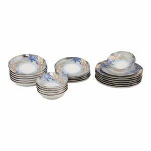 24-dielna súprava porcelánového riadu Güral Porselen Abstract