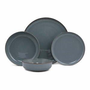 24-dielna súprava tmavomodrého porcelánového riadu Kütahya Porselen Basis