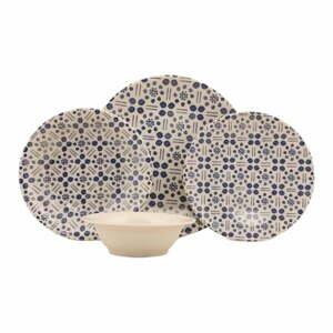 24-dielna súprava kameninového riadu Kütahya Porselen Dots