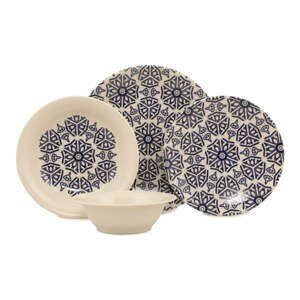 24-dielna súprava kameninového riadu Kütahya Porselen Seacoast