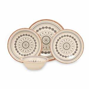 24-dielna súprava kameninového riadu Kütahya Porselen Geometric