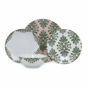 24-dielna súprava porcelánového riadu Kütahya Porselen Ornaments