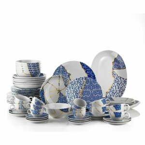 28-dielna súprava porcelánového riadu Kütahya Porselen Cracks