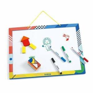 Drevená magnetická tabuľa Djeco