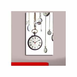 Obrazové hodiny Vreckové hodinky, 45×70 cm