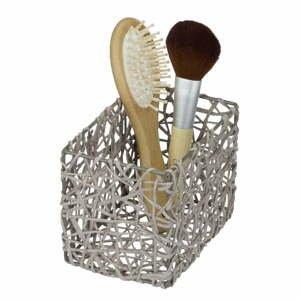 Sivý kúpeľňový košík Wenko Curly