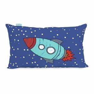 Obojstranná bavlnená obliečka na vankúš Mr. Fox Space Rocket, 50 × 30 cm