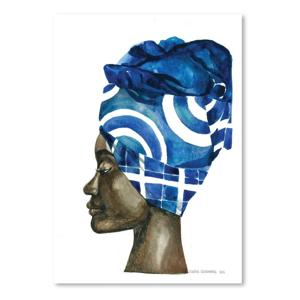 Plagát African Pride II, 30×42cm