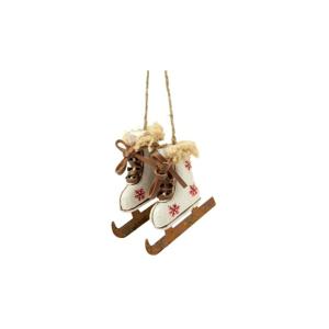 Závesná dekorácia Antic Line Skiing