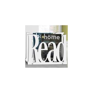 Biely stojan na časopisy Tomasucci Read