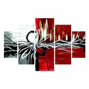 Viacdielny obraz Chaos, 92x56 cm