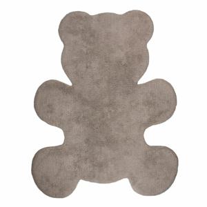 Detský hnedý koberec Nattiot Little Teddy, 80×100 cm