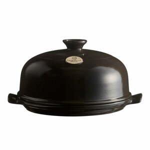 Čierna okrúhla forma na pečenie chleba Emile Henry, ⌀ 28,5 cm