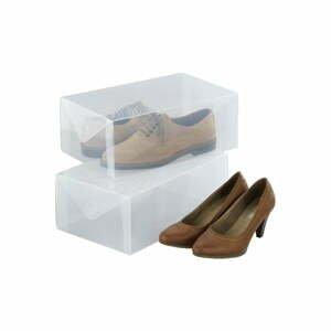 Sada 2 úložných boxov na topánkyWenkoPack