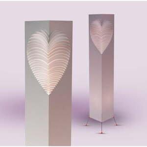 Svetelný objekt MooDoo Design Heart, výška 110 cm
