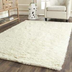 Vlnený koberec Royal Dream Pure Light, 60 × 120 cm