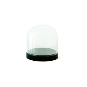 Sklenená vitrínka Wireworks Pleasure Dome Black, 13cm