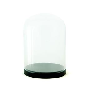Sklenená vitrínka Wireworks Pleasure Dome Black, 23cm