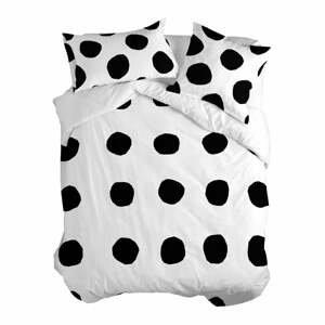 Bavlnená obliečka na paplón Blanc Dot, 200 × 200 cm