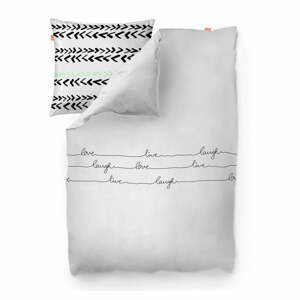 Bavlnená obliečka na paplón Blanc Live, 200 × 200 cm