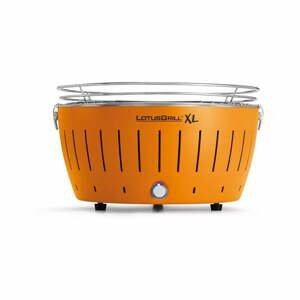 Oranžový nedymiaci gril LotusGrill XL