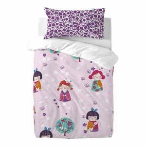 Detské bavlnené obliečky Moshi Moshi Cherry Blossom,115×145cm