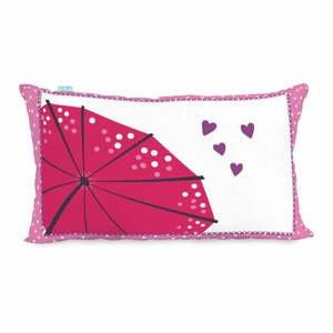 Bavlnená obojstranná obliečka na vankúš Moshi Moshi Cherry Blossom, 50×30cm