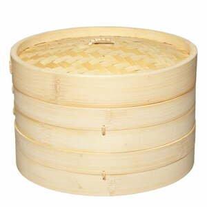Bambusový naparovač Kitchen Craft Oriental, ⌀ 23 cm