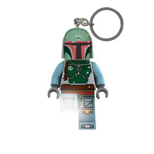 Svietiaca kľúčenka LEGO® Wars Boba Fett