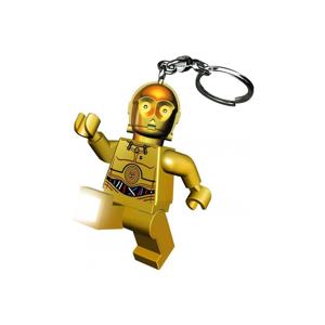 Svietiaca kľúčenka LEGO® Star Wars C3PO