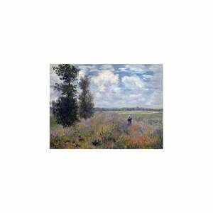 Reprodukcia obrazu Claude Monet - Poppy Fields near Argenteuil, 40×30 cm