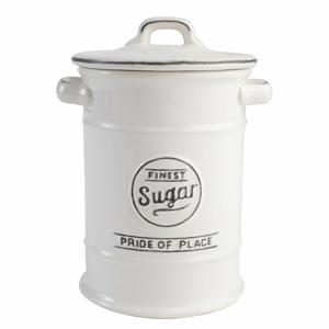 Biela keramická dóza na cukor T&G Woodware Pride of Place