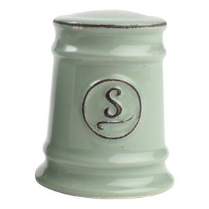 Zelená keramická soľnička T&G Woodware Pride of Place