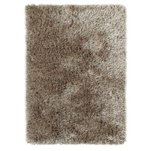 Hnedý ručne tuftovaný koberec Think Rugs Monte Carlo Mink, 60×115 cm