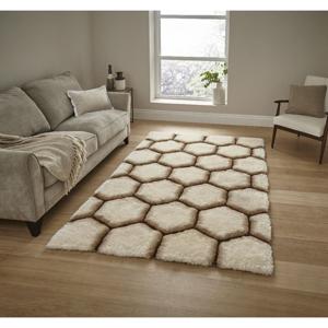 Krémový koberec Think Rugs Noble House, 120x170cm