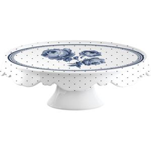Porcelánový tanier na torty Creative Tops Vintage Indigo, ⌀25cm