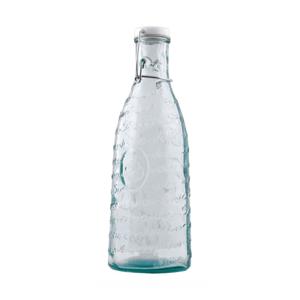 Fľaša z recyklovaného skla na šťavu Ego Dekor Mediterraneo, 1000 ml