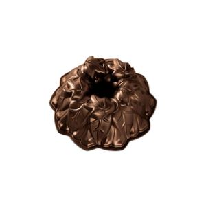 Forma na bábovku v tmavomedenej farbe Nordic Ware Wine Leaves, 2,1 l