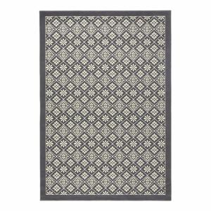Sivo-biely koberec Hanse Home Gloria Tile, 200 x 290 cm