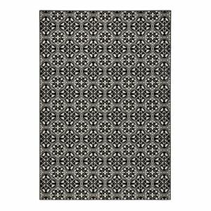 Čierny koberec Hanse Home Gloria Pattern, 80 x 300 cm