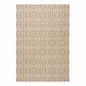 Béžový koberec Hanse Home Gloria Pattern, 80 x 300 cm