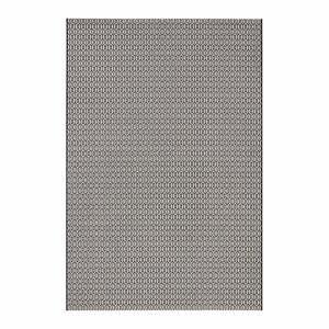 Čierno-biely koberec vhodný aj do exteriéru Meadow, 200×290 cm