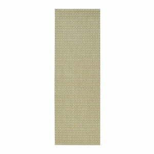 Zelený vonkajší koberec Bougari Coin, 80 x 200 cm