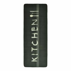 Sivohnedý kuchynský behúň Zala Living Kitchen, 67×180cm