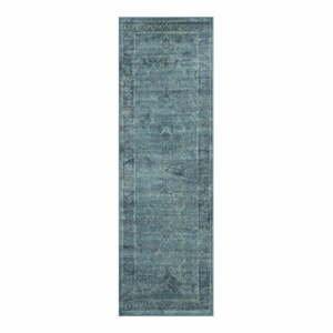 Behúň z viskózy Safavieh Peri Vintage Blue, 243 x 66 cm